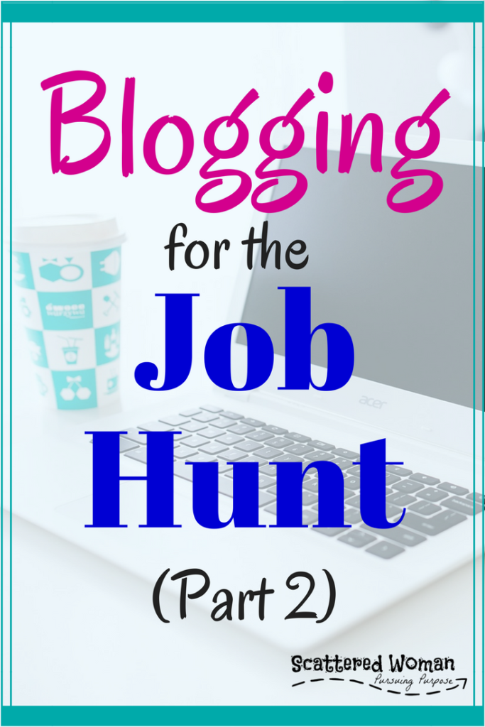 You have your website set up, now it's time to work on Blogging for the Job Hunt - Part 2: content, social media, and SEO!