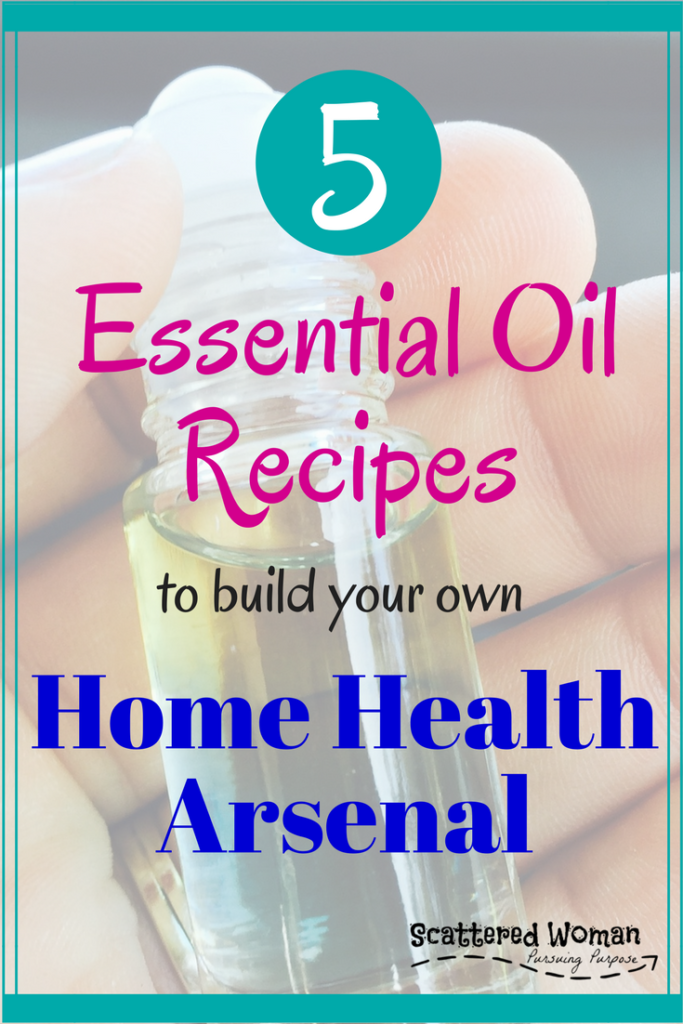 Essential Oil Blends are a great way to support your body's immune system. Try these 5 Essential Oil Blends for your Home Health Arsenal!