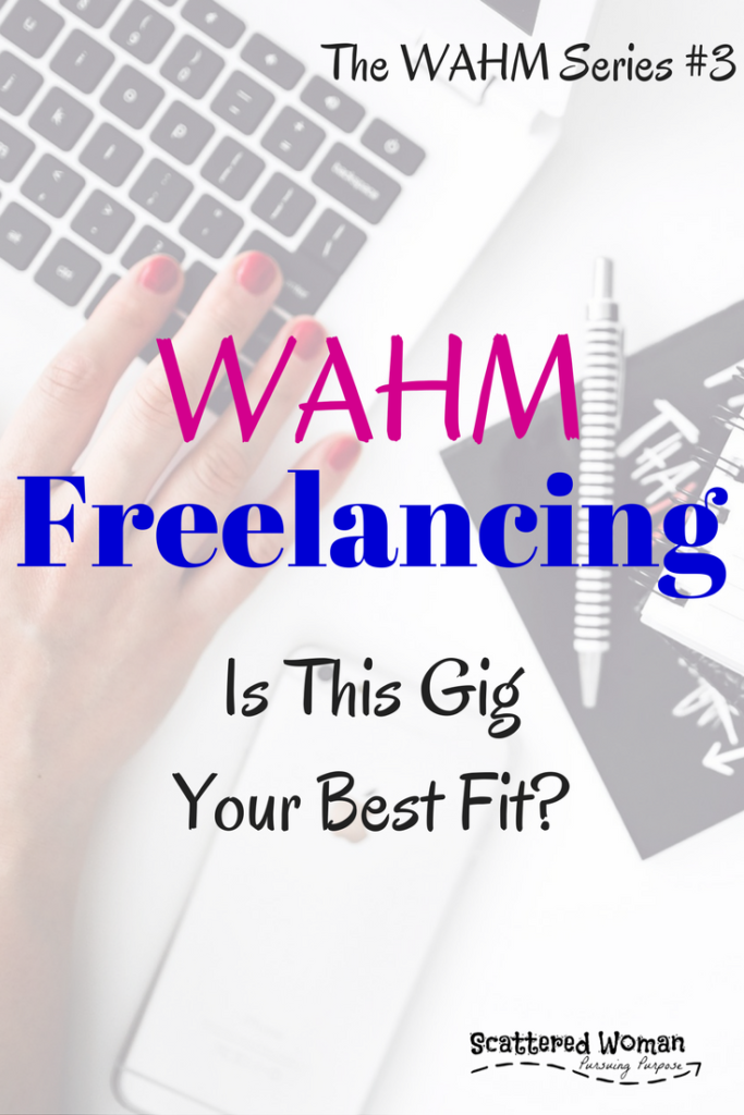 WAHM Freelancing. Set your own hours, create your own schedule, only accept jobs YOU want to work on. How does THAT type of WAHM job sound?