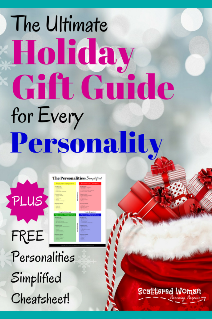 Are you stumped on what to get that hard-to-shop-for person on your list? Check out the Ultimate Holiday Gift Guide for Every Personality!